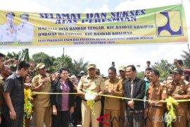Bupati resmikan Jembatan Desa Bandar Tengah