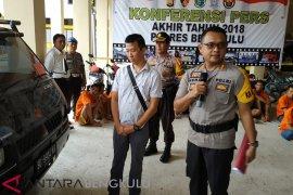 Polres Bengkulu: Pencurian tindakan kriminal tertinggi di Bengkulu 2018