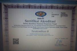Prodi Sendratasik Unja peroleh akreditasi B