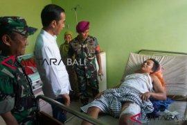 Presiden jenguk korban tsunami di Kecamatan Labuan