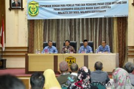 Pedagang Sudimampir Banjarmasin Dukung Renovasi Pasar