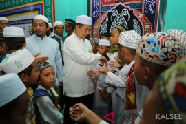 284 santri enter the tahfidz quarantine