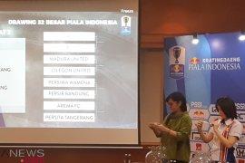 Babak 32 besar turnamen Piala Indonesia digulirkan 22 Januari