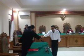 Koruptor Pajak Tabanan divonis 20 bulan penjara