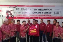 PMI Bali kirim 20 relawan ke Sulawesi Tengah