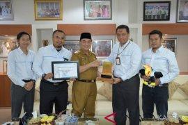 Bupati HSS terima kunjungan pimpinan PLN UP3 Barabai