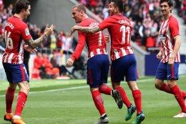Atletico atasi Levante lewat penalti Griezman