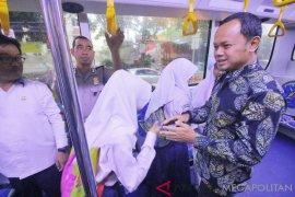 Bus sekolah Bogor setiap hari berganti rute