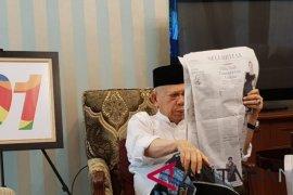 Ma`ruf Amin lanjutkan kegiatan di Rumah Situbondo      Pilpres