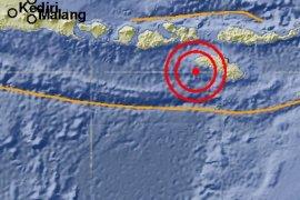 Gempa 6,7 SR cukup kuat dirasakan masyarakat Sumba