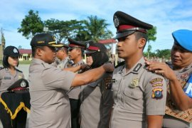 46 personel Polres Simalungun naik pangkat