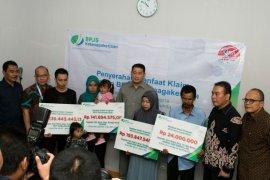 BPJS Ketenagakerjaan bayar santunan korban tsunami Banten