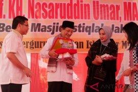Imam besar Masjid Istiqlal minta perbedaan jangan diartikan malapetaka