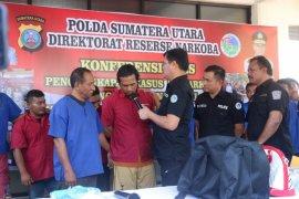 Polda Sumut gagalkan peredaran narkoba jaringan Malaysia
