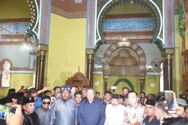 SBY kunjungi Masjid Azizi Tanjungpura Langkat