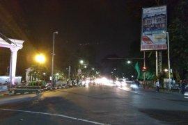 Hujan gerimis guyur Kota Bogor awal tahun baru