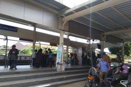 KA Pangrango Bogor-Sukabumi tidak beroperasi akibat longsor