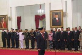 Presiden lantik Letjen Doni Monardo sebagai Kepala BNPB