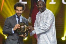 Mohamed Salah kembali dinobatkan sebagai pemain terbaik Afrika