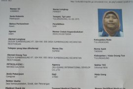 TKW Tulungagung Meninggal di Taiwan karena Sakit