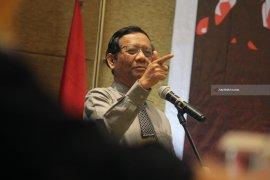 Mahfud MD: Dua Paslon Belum Tunjukkan Harapan Baru Penegakan Hukum