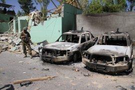 Taliban serang pusat militer di Afghanistan