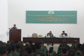 Danrem 133/Nani Wartabone Tegaskan Netralitas TNI Di Pemilu