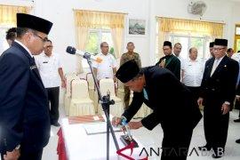 17 pejabat Pemkab Bangka Barat dirotasi