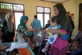 Warga terdampak tsunami di Lampung  namai bayinya Tsunami