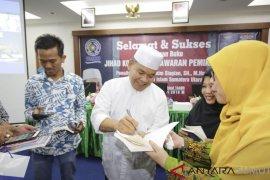 "PKSK UMSU bedah buku ""Jihad Konstitusi"" Abdul Hakim Siagian"