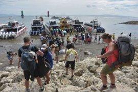 Turis Rusia hilang saat berburu tembak ikan di Nusa Penida