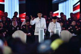 Presiden hadiri peringatan HUT PDI Perjuangan