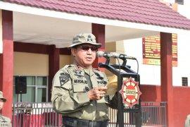 Kapolda Jambi buka latihan pratugas Brimob  ke Papua