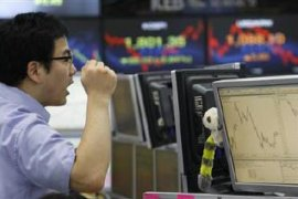 Bursa saham Seoul menguat 0,59 persen