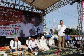 Ribuan ibu perwiridan hadiri dzikir akbar bersama menantu Jokowi dan Hadad Alwi