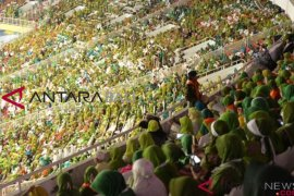 Ribuan Muslimat NU  harapkan Pemilu 2019 damai