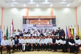 KPU Kabupaten Bogor kukuhkan 55 relawan demokrasi