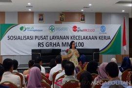 RS Grha MM2100 Bekasi layani pasien kecelakaan kerja peserta BPJS-TK