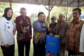 Mayor hands over assistance to farmer groups