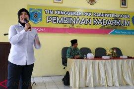 Cegah KDRT, Perempuan di Paser Ikuti Pembinaan Kadarkum