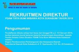 Pemkot Sukabumi lelang jabatan Direktur PDAM
