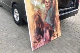 Presiden Beli Lukisan Seniman Cianjur