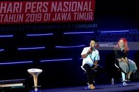 Pewarta LKBN Antara Berbagi Pengalaman Liputan di Istana Negara (Video)