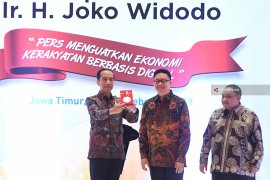 President Jokowi Awarded Press Freedom Medal