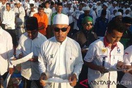 Zikir akbar caleg di Aceh Utara berlangsung khidmat