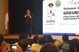 Gubernur minta kinerja Bank Sumut terus membaik walau jabatan dirut belum terisi