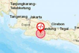 Gempa bumi berkekuatan 3.0 magnitudo terjadi di Kabupaten Bandung