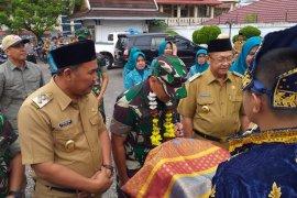 Bupati Sarolangun sambut kunjungan Danrem 042/Gapu (video)