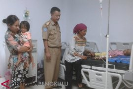 RSUD Curup rawat dua anak lumpuh layu