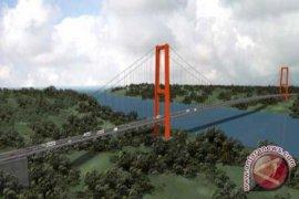 Pembangunan jembatan Penajam-Balikpapan tahap pembebasan lahan